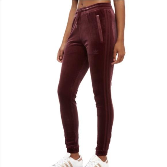 BNWT Adidas Velvet Vibes SST Track Pant NWT